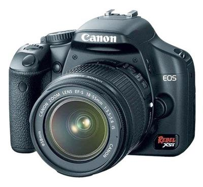Canon Rebel XSi Camera - Front View