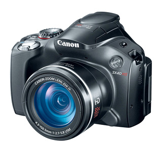 Canon SX40 HS Camera