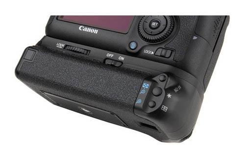 Vello battery grip for Canon camera