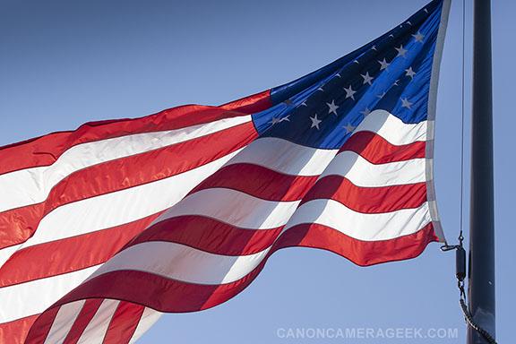 Veterans Cemetery Flag