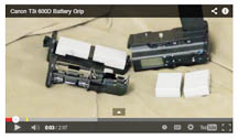 Link to video on t3i battery grip