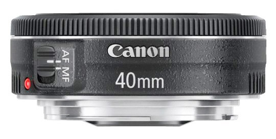 Affordable Canon 40mm f2.8 Lens