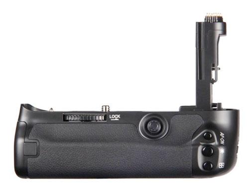 Rear view of BG-E11 Battery Grip