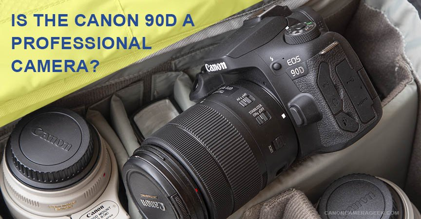 Is the Canon 90D a professional camera?