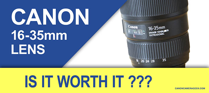 Article Header: Canon 16-35mm lens