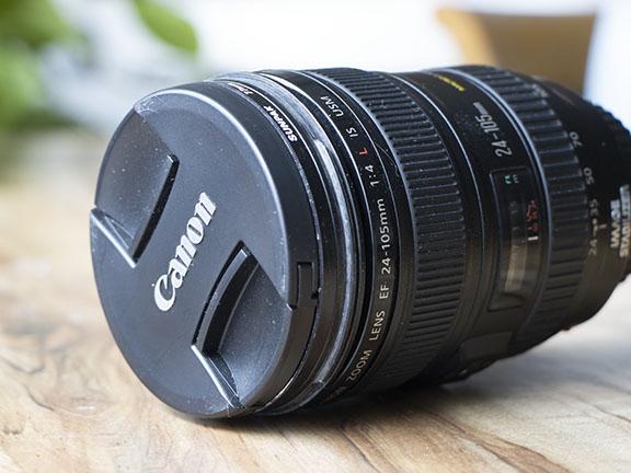 Canon 24-105mm front lens cap
