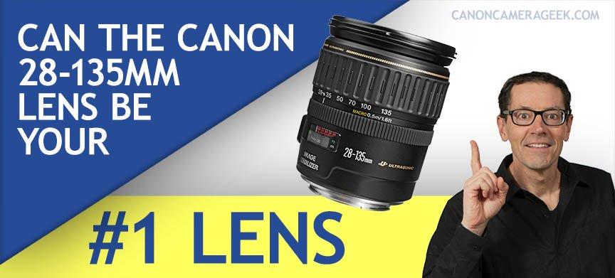 Canon 18-135mm Lens Header