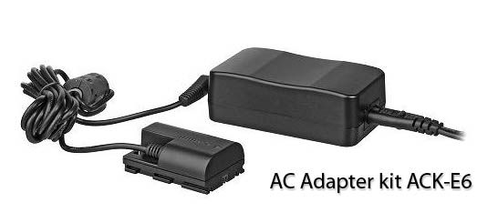 AC Adapter kit ACK-E6