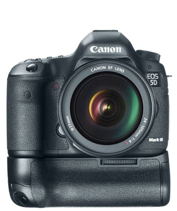 Canon 5D Mark II and Battery Grip
