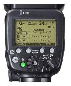 Canon 600EX-RT LCD Panel