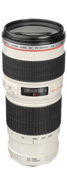 Canon 70-200mm f/4 lens