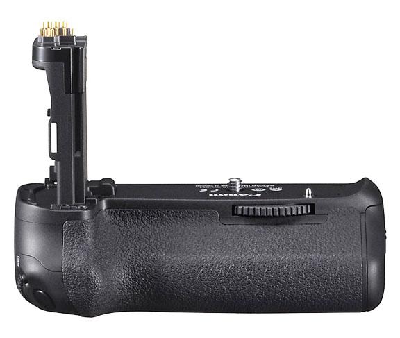 Close-up Photo of Canon BG-E14 Battery Grip