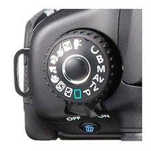 Canon EOS 60D Mode Dial