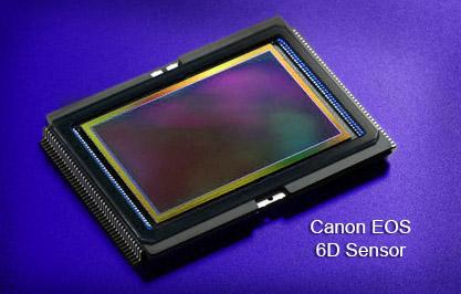 Canon EOS 6D Sensor