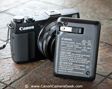 G1x Mark II compact battery charger