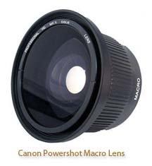 Canon Powershot Macro Lens