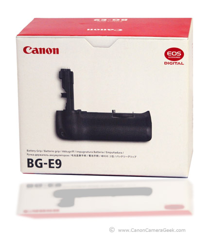 Canon Battery Grip EG-9 Box