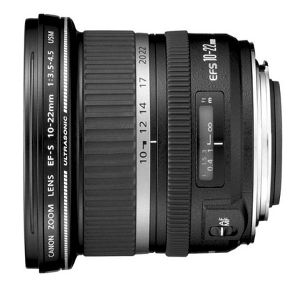 Canon EF-S 10-22mm Wide-angle lens for Canon 70D