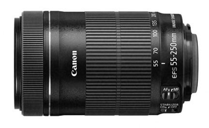 Canon EF-S 55-250mm lens for Canon 70D camera