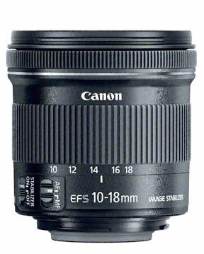 Canon 10-18 lens
