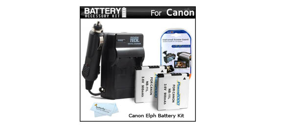Canon Elph battery kit