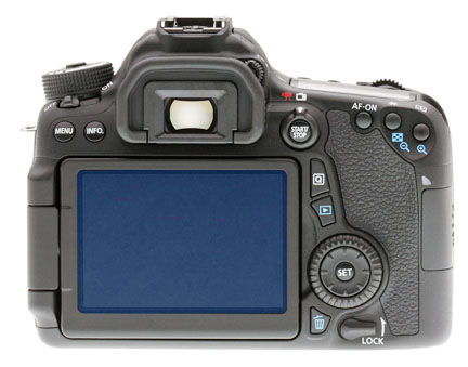 Canon EOS 70D LCD Screen