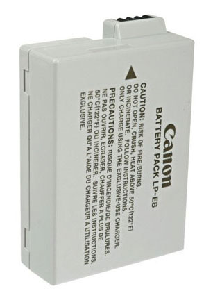 Canon t3i LP-E8 Battery