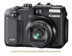 Photo of Canon G12 waiting for some cool Accessories