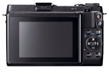 Canon g1x Mark II LCD screen