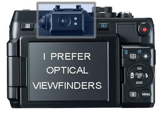 G1x Mark II viewfinder