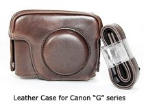 PowerShot G12 leather case