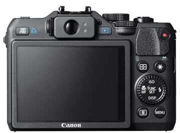 Canon G15 Fixed LCD Screen
