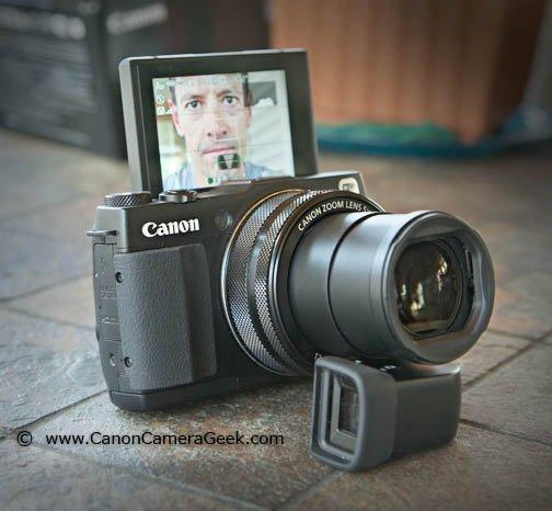 Canon G1X Mark II First Selfie