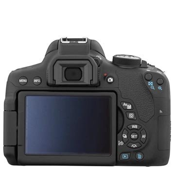 Canon Rebel t6i 3 inch rotating LCD Screen