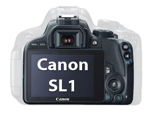 Canon SL1 vs t5i Size Comaprison