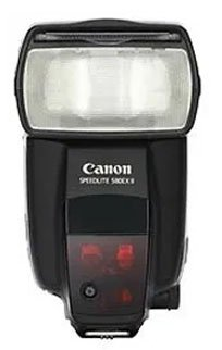 Canon 580EX II Speedlite Flash