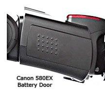 Canon Speedlite 580EX Battery Door