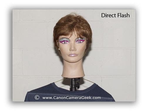Canon Speedlite Portrait with 270EX ii-direct flash