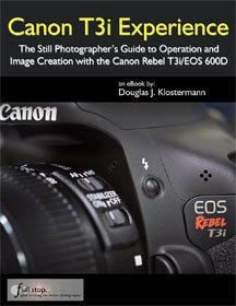 Canon t3i book cover