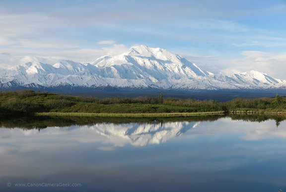 Canon Powershot G1X Mark II photo of Reflection Pond in Denali National Park