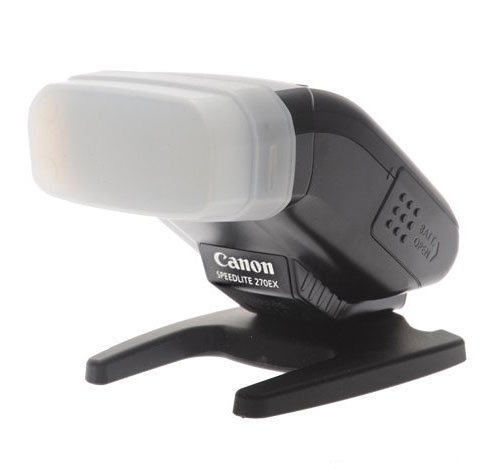 Snp-on diffuser for Canon 270EX II Flash