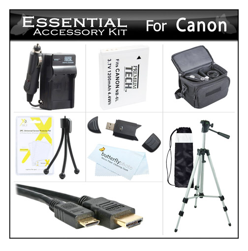 Essential accessory kit for Canon Camera