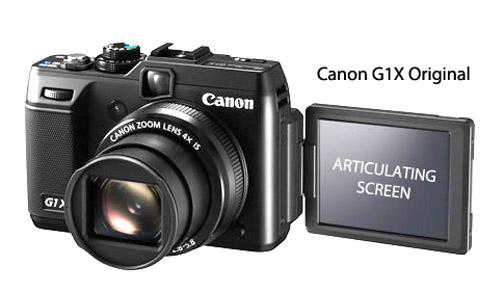 G1X Articulating LCD Screen
