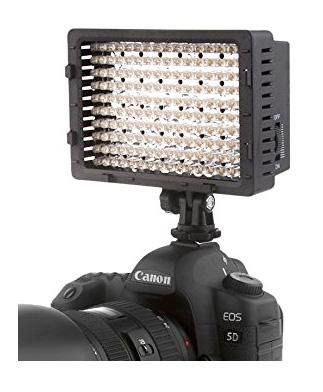 LED hot shoe light panel