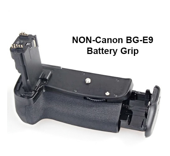 3rd party battery grip for Canon EOS 60D