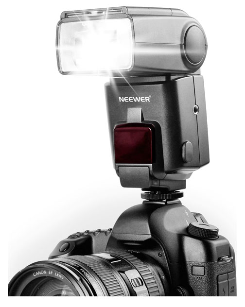 Alternative external flash units
