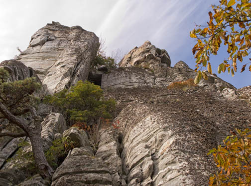 Rocks of Mount Pilot, North Carolina
