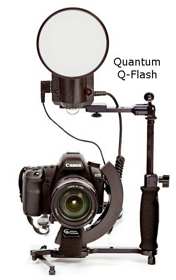 Quantum Q-Flash Mounted on Bracket Without Battery