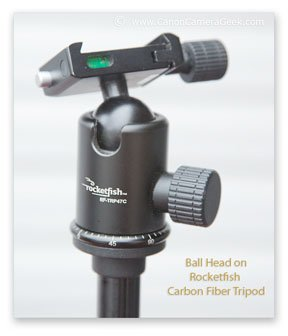 Rocketfish carbon fiber tripod