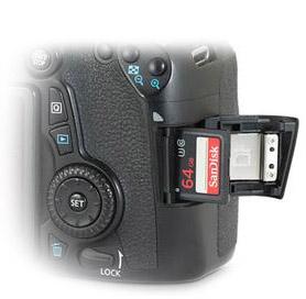 Canon 70D SD Card Slot